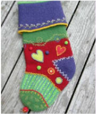 Felted Stocking