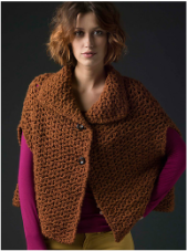 Crocheted Capelet