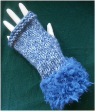 My First Fingerless Mitts