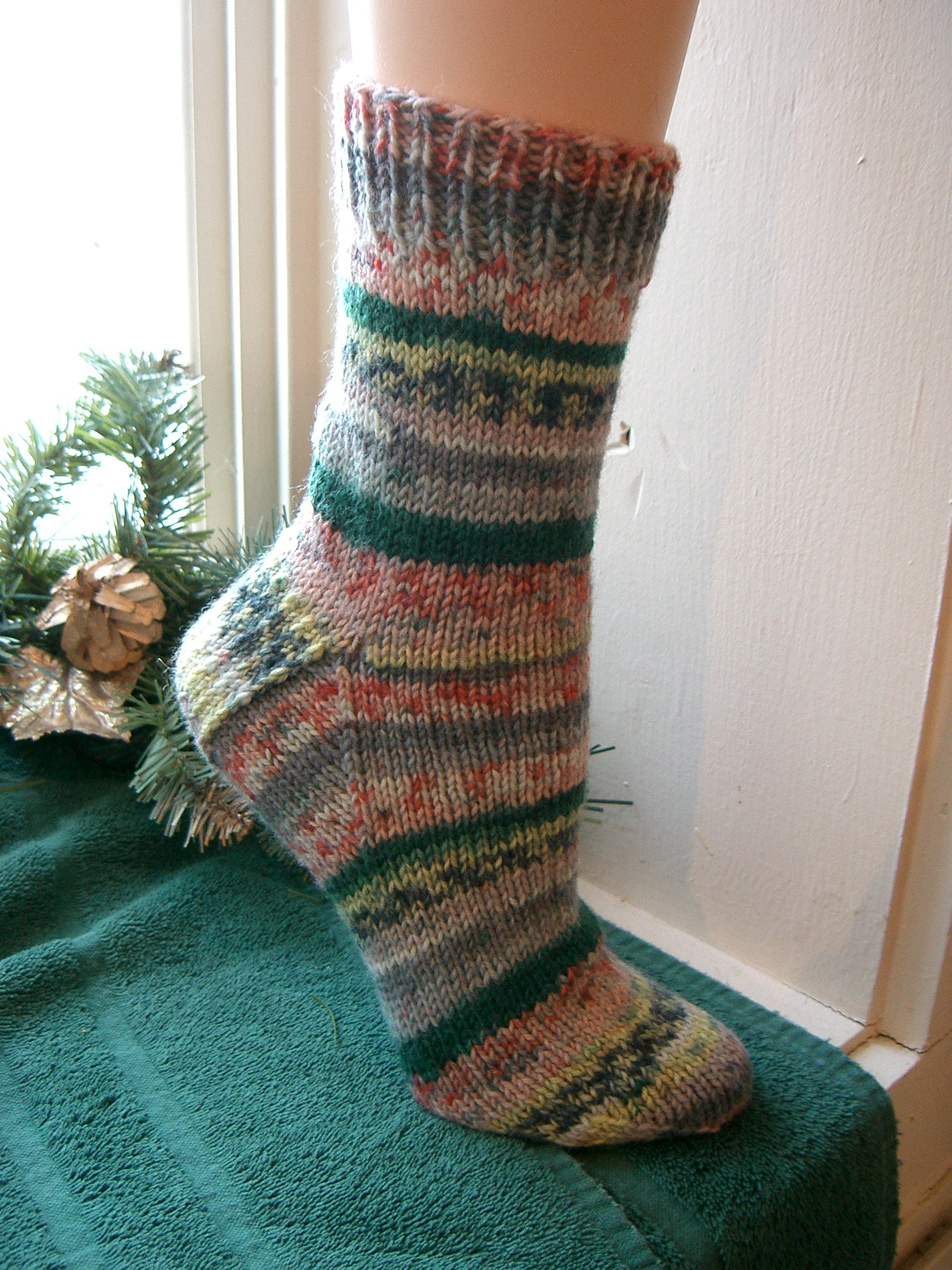 Pattern For Knitting Socks On 9 Inch Circular Needles : DK BOOT SOCKS ON 9? CIRCULAR NEEDLES